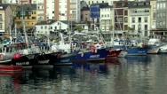 Stock Video Footage of Luarca