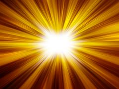 abstract background of sunshine - stock illustration