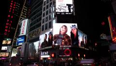7th Ave Screens Stock Footage