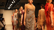 Stock Video Footage of New York Fashion Week - Runway Show 2