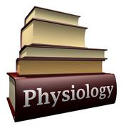 Stock Illustration of Education books - physiology