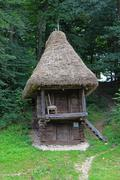 hobbit house - stock photo