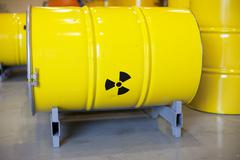 Radioactive waste Stock Photos