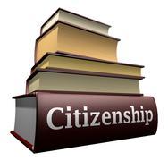 Education books - citizenship Stock Illustration