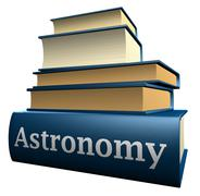 Education books - Astronomy - stock illustration