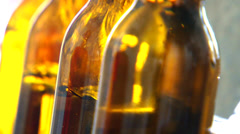 Making craft beer Stock Footage