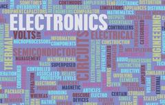 Electronics industry Stock Illustration