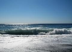 Seashore of the black sea. summer journey Stock Photos