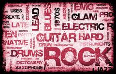 Rock music Piirros