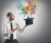 creative business - stock photo