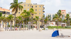 Hollywood Beach Florida Arkistovideo