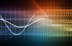 Web technology forecast Stock Illustration