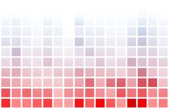 video game pixel gaming abstract background - stock illustration