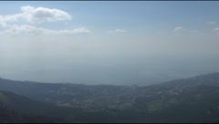On a plateau Yalta Stock Footage