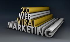 Viral marketing Stock Illustration
