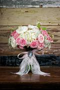Stock Photo of bridal bouquet