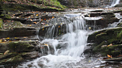 Small water cascade Stock Footage