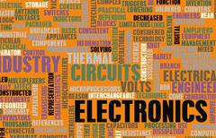 Electronics industry Piirros