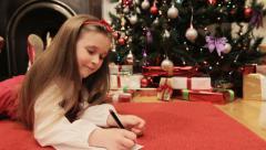 DOLLY: Dear Santa - stock footage