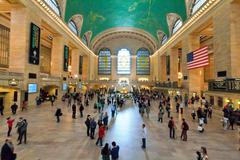 Grand Central Station main Hall, New York City - stock photo