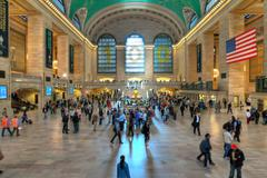 Grand Central Station main Hall, New York City Stock Photos