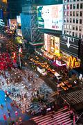 Times Square yöllä, New York Kuvituskuvat