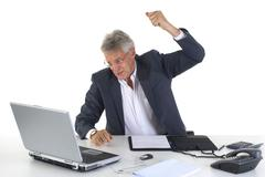 Angry ceo or manager Stock Photos