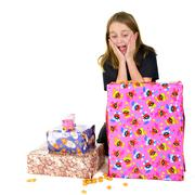 Stock Photo of child with presents for sinterklaas