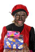 black piet from holland - stock photo
