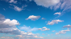 sky and clouds - stock footage