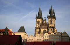Praha - prague, the capital city of the czech republic Stock Photos
