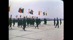 Vietnam - US-Parade 03 Stock Footage