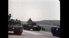 Vietnam - US-Parade 06 Stock Footage