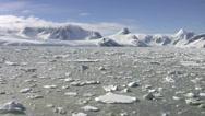 Icebreaker in Antarctica Stock Footage