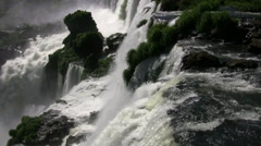 Iguazu Waterfall - stock footage
