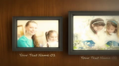 Photo Frame Slideshow Movie Trailer and Titles Displays Photo Gallery - stock after effects