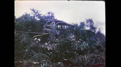 Vietnam War - Tanks In Jungle 01 Stock Footage