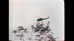 Vietnam War - US troops 01 - stock footage