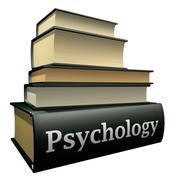 Education books - psychology Stock Illustration