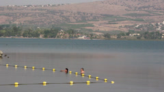Sea of Galilee - stock footage