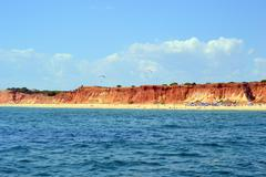 beach rocha baixinha leste - stock photo