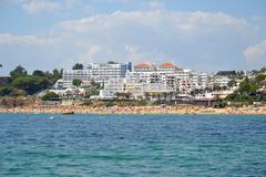 beach oura - stock photo