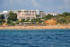 beach alem?es - stock photo