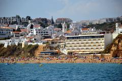 beach peneco - stock photo
