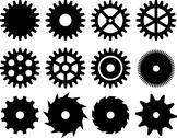 Stock Illustration of gears