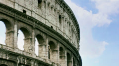 Timeless Rome Colosseum in Italy - 29,97FPS NTSC - stock footage