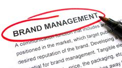 Stock Photo of brand management