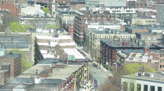 Hemenway Street Boston Stock Footage