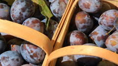 Prune Plums 2 Stock Footage