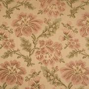 Fabric background with floral pattern Stock Photos